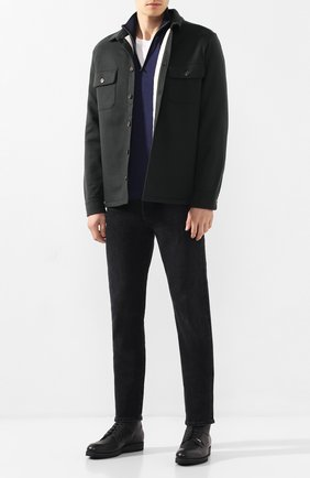 Мужские кожаные ботинки ZILLI черного цвета, арт. MDS-B046/002 | Фото 2
