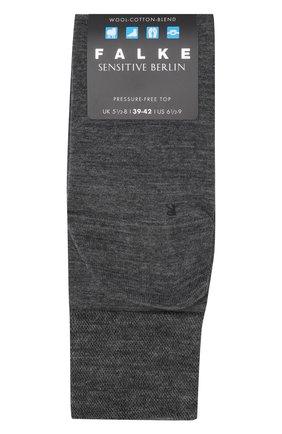 Мужские носки из смеси шерсти и хлопка sensitive berlin FALKE светло-серого цвета, арт. 14416 | Фото 1