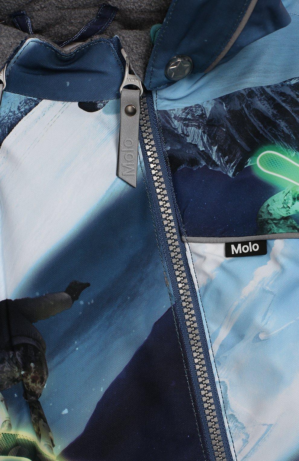 Детского комбинезон pyxis MOLO синего цвета, арт. 5W19N101   Фото 3