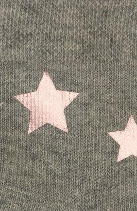 Детские хлопковые носки FALKE серого цвета, арт. 12250   Фото 2