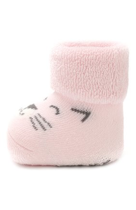 Детские хлопковые носки FALKE светло-розового цвета, арт. 12246 | Фото 2