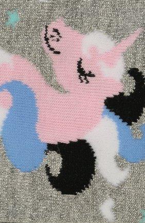Детские носки FALKE серого цвета, арт. 12223 | Фото 2