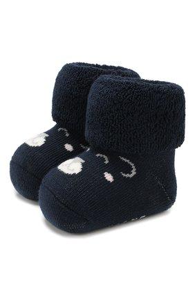 Детские хлопковые носки FALKE темно-синего цвета, арт. 12211 | Фото 1