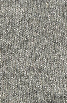 Детские хлопковые носки FALKE серого цвета, арт. 12174 | Фото 2