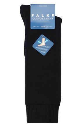 Детские шерстяные гольфы FALKE темно-синего цвета, арт. 11488 | Фото 1
