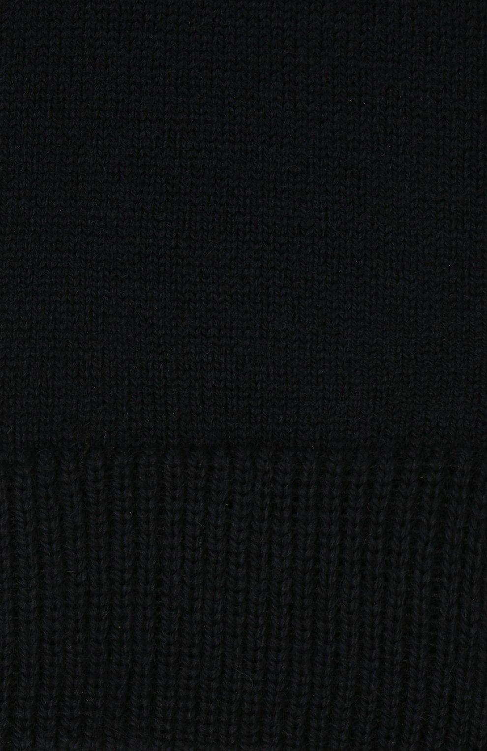 Детские шерстяные гольфы FALKE темно-синего цвета, арт. 11488   Фото 2