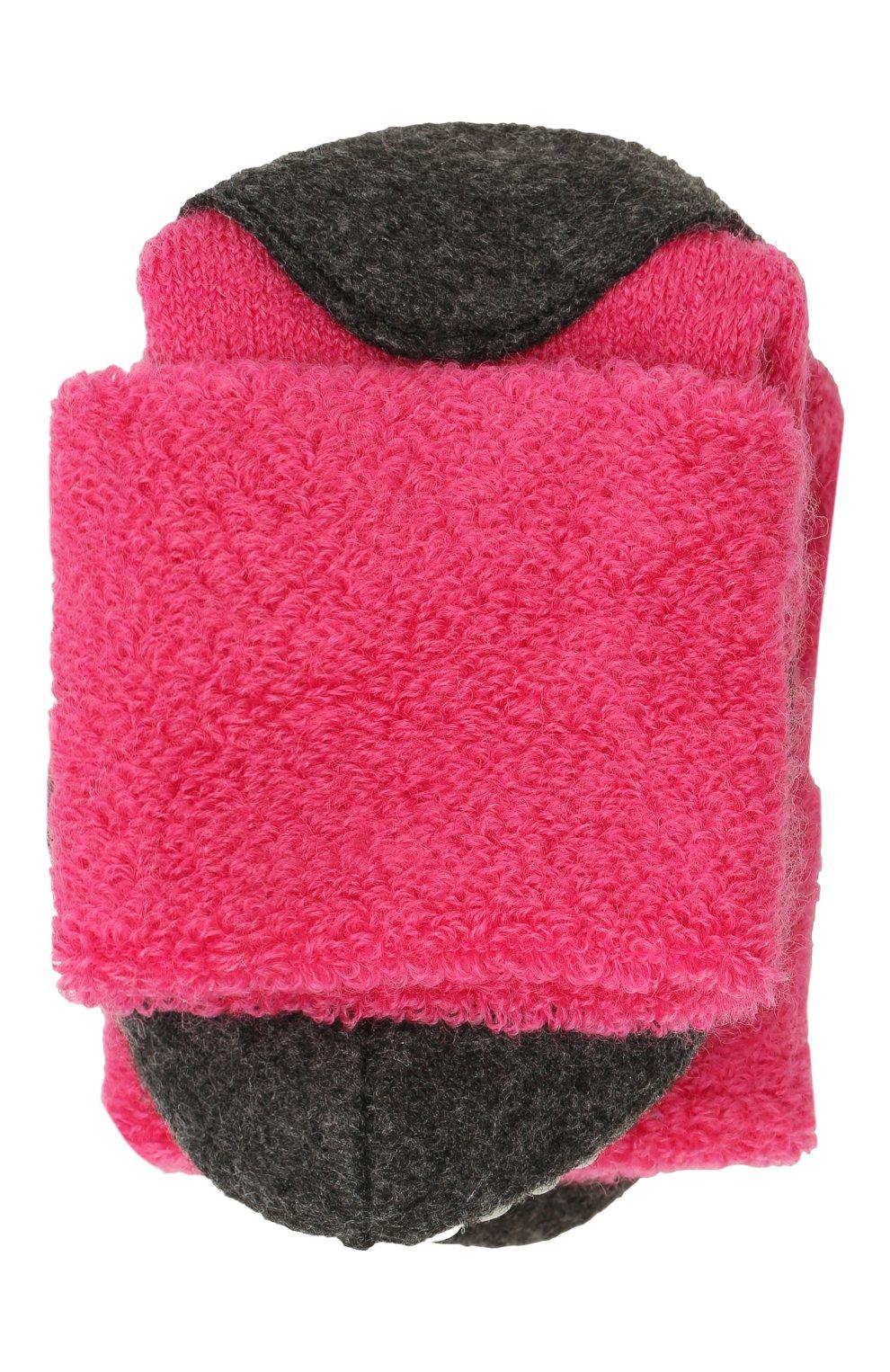 Детские шерстяные носки FALKE фуксия цвета, арт. 10560   Фото 1