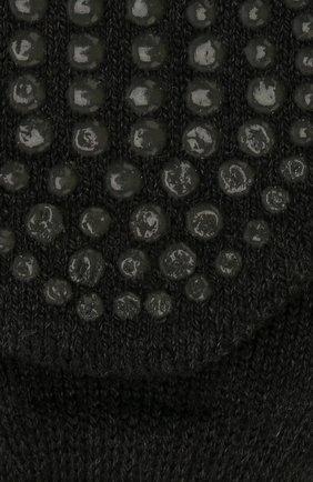Детские носки из хлопка и шерсти FALKE серого цвета, арт. 10500 | Фото 2