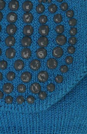 Детские носки из хлопка и шерсти FALKE синего цвета, арт. 10500 | Фото 2