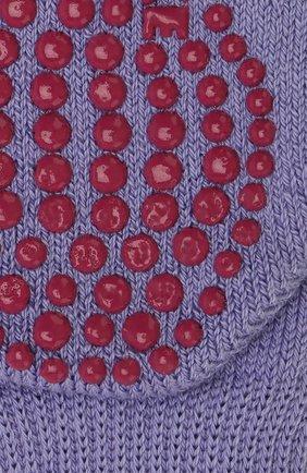 Детские носки из хлопка и шерсти FALKE фиолетового цвета, арт. 10500 | Фото 2