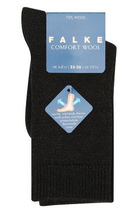 Детские шерстяные носки FALKE темно-серого цвета, арт. 10488 | Фото 1