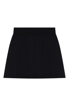 Детская хлопковая юбка DAL LAGO темно-синего цвета, арт. R301/8740/13-16 | Фото 1