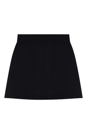 Детская хлопковая юбка DAL LAGO темно-синего цвета, арт. R301/8740/13-16 | Фото 2