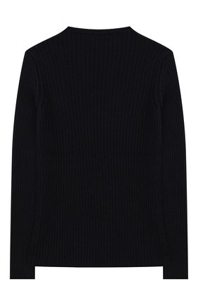Детский шерстяной пуловер DAL LAGO темно-синего цвета, арт. R567/8325/4-6 | Фото 2