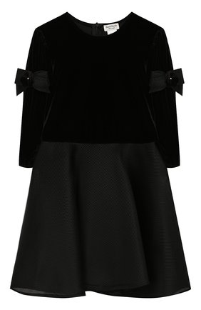 Детское платье DAVID CHARLES черного цвета, арт. 735 | Фото 1