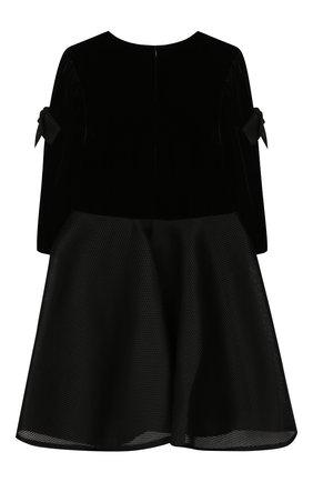 Детское платье DAVID CHARLES черного цвета, арт. 735 | Фото 2