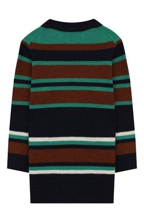 Детский шерстяной пуловер ACNE STUDIOS синего цвета, арт. D60004   Фото 2