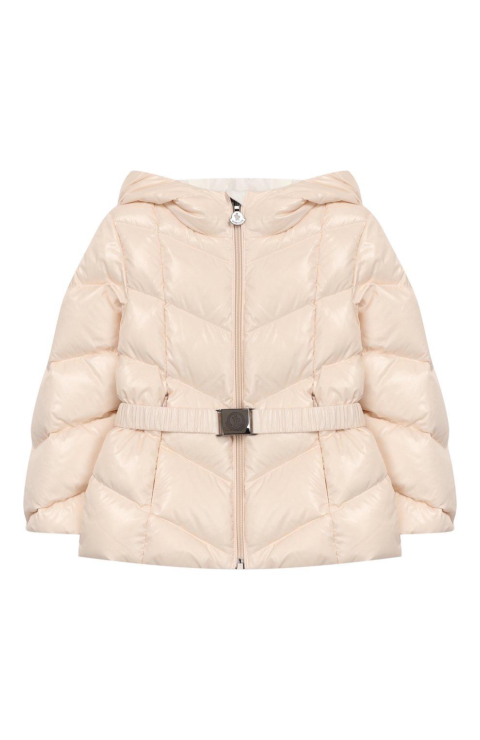 Детский комплект из куртки и комбинезона MONCLER светло-розового цвета, арт. E2-951-75327-05-68950/18M-3A | Фото 2