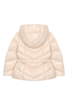 Детский комплект из куртки и комбинезона MONCLER светло-розового цвета, арт. E2-951-75327-05-68950/18M-3A | Фото 3