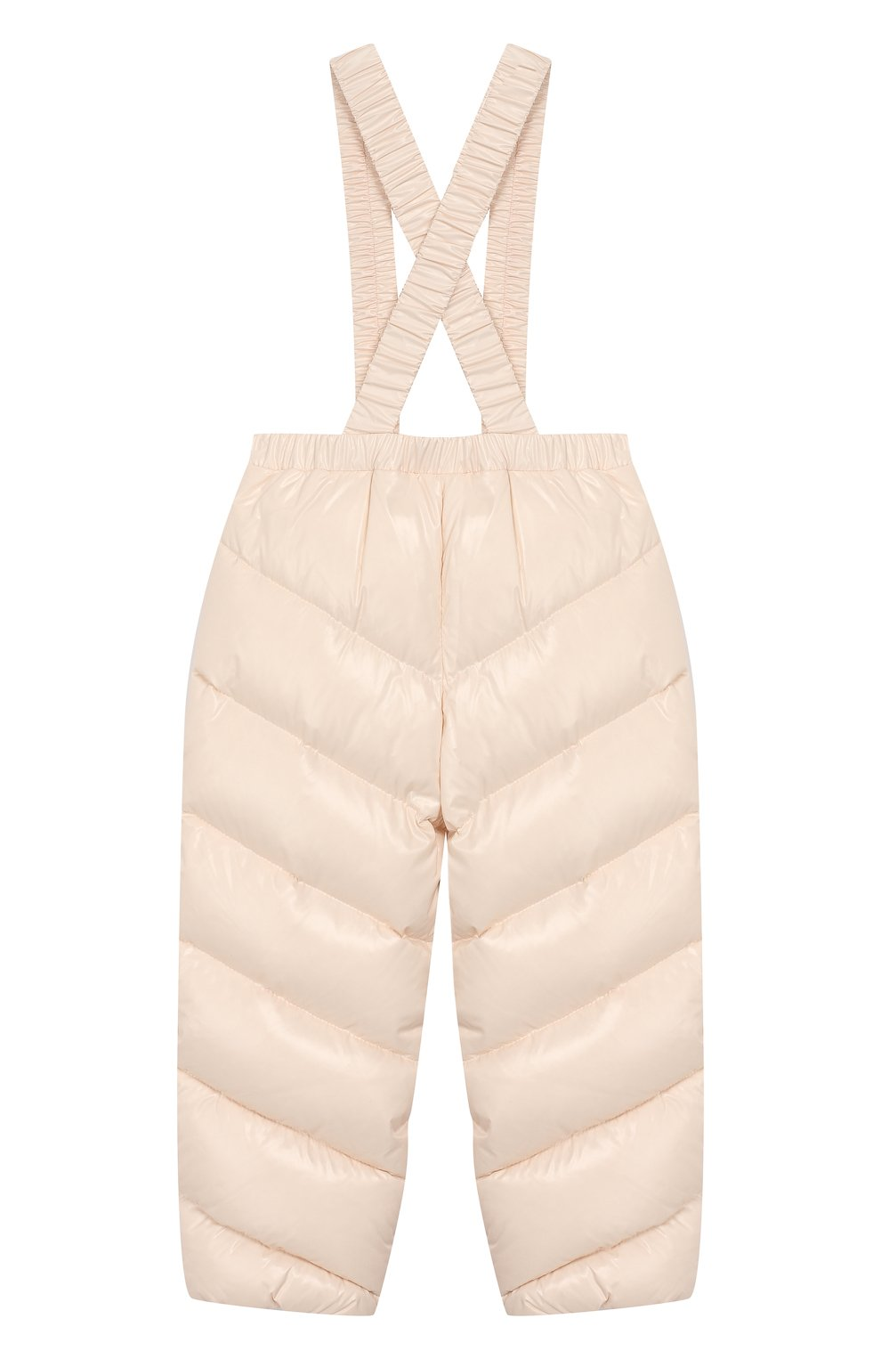 Детский комплект из куртки и комбинезона MONCLER светло-розового цвета, арт. E2-951-75327-05-68950/18M-3A | Фото 5