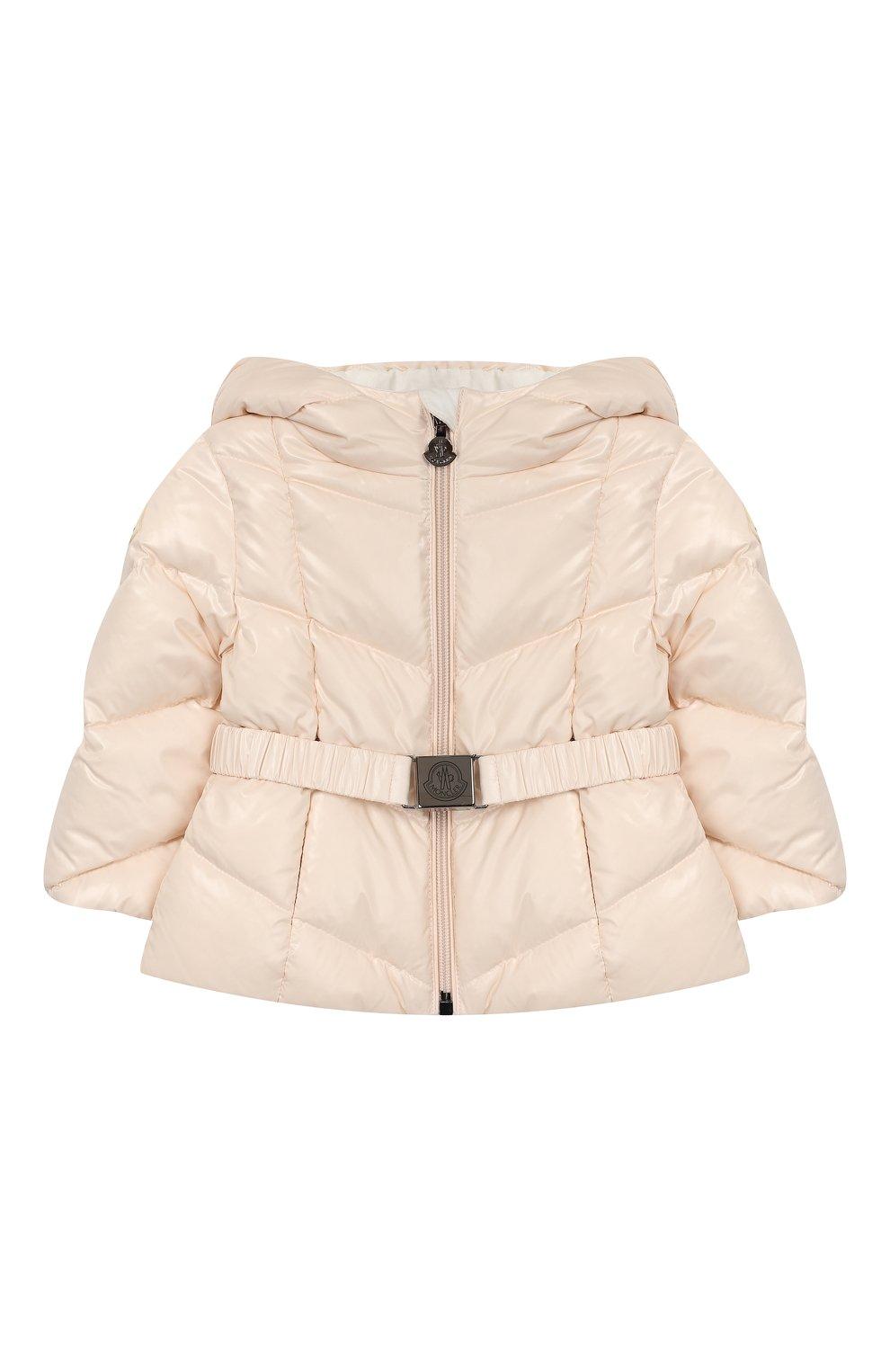 Детский комплект из куртки и комбинезона MONCLER светло-розового цвета, арт. E2-951-75327-05-68950/3M-18M   Фото 2