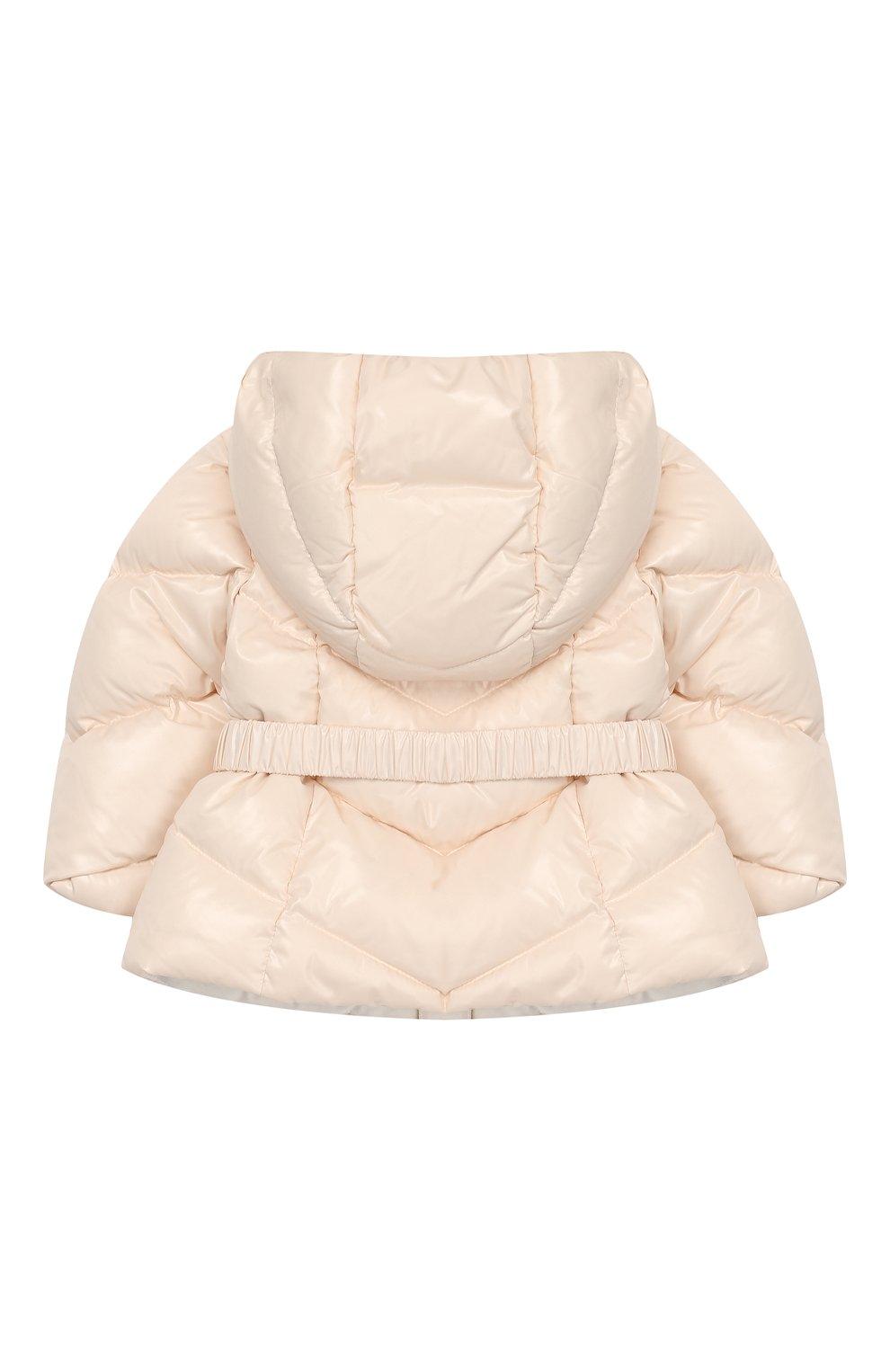 Детский комплект из куртки и комбинезона MONCLER светло-розового цвета, арт. E2-951-75327-05-68950/3M-18M   Фото 3