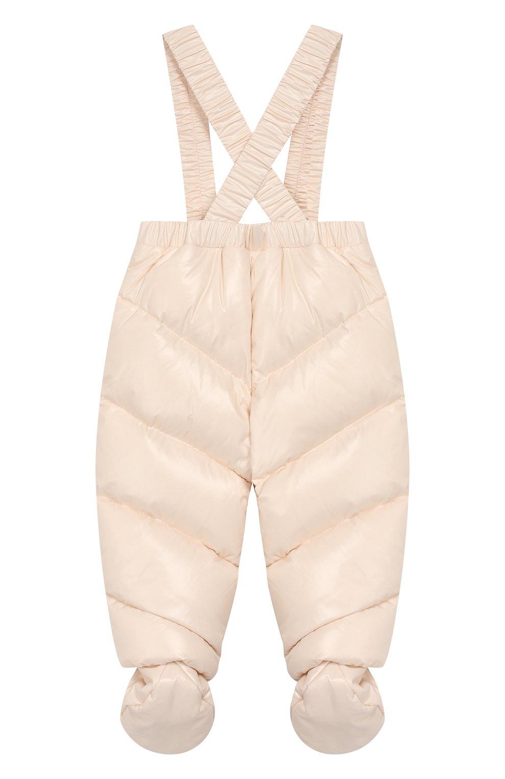 Детский комплект из куртки и комбинезона MONCLER светло-розового цвета, арт. E2-951-75327-05-68950/3M-18M   Фото 5