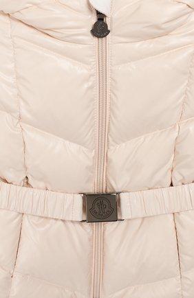 Детский комплект из куртки и комбинезона MONCLER светло-розового цвета, арт. E2-951-75327-05-68950/3M-18M   Фото 6
