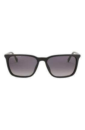 Женские солнцезащитные очки BOSS черного цвета, арт. 0959 807 | Фото 2