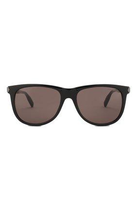 Мужские солнцезащитные очки MONTBLANC серого цвета, арт. MB0031 006 | Фото 2