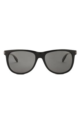 Мужские солнцезащитные очки MONTBLANC черного цвета, арт. MB0031 010 | Фото 2