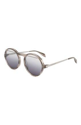 Женские солнцезащитные очки ALEXANDER MCQUEEN черного цвета, арт. AM0192 003 | Фото 1