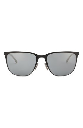 Мужские солнцезащитные очки BOSS черного цвета, арт. 1062/F 003 | Фото 2