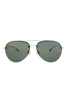 Мужские солнцезащитные очки BOSS зеленого цвета, арт. 1066/F 000 | Фото 2