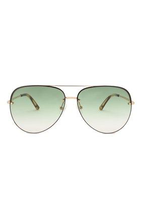 Женские солнцезащитные очки MATTHEW WILLIAMSON зеленого цвета, арт. MW240C2 SUN   Фото 3