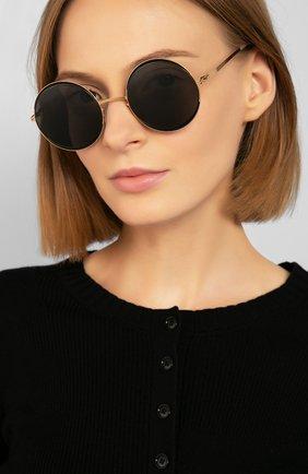Мужские солнцезащитные очки MYKITA черного цвета, арт. IRIS/167 | Фото 2
