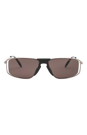 Мужские солнцезащитные очки ALEXANDER MCQUEEN черного цвета, арт. AM0198 004 | Фото 2