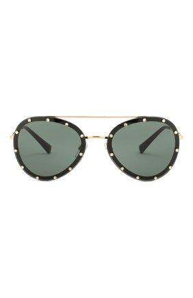Женские солнцезащитные очки VALENTINO зеленого цвета, арт. 2013-300271 | Фото 3