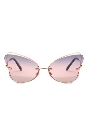 Женские солнцезащитные очки VALENTINO разноцветного цвета, арт. 2031-3004E6   Фото 3