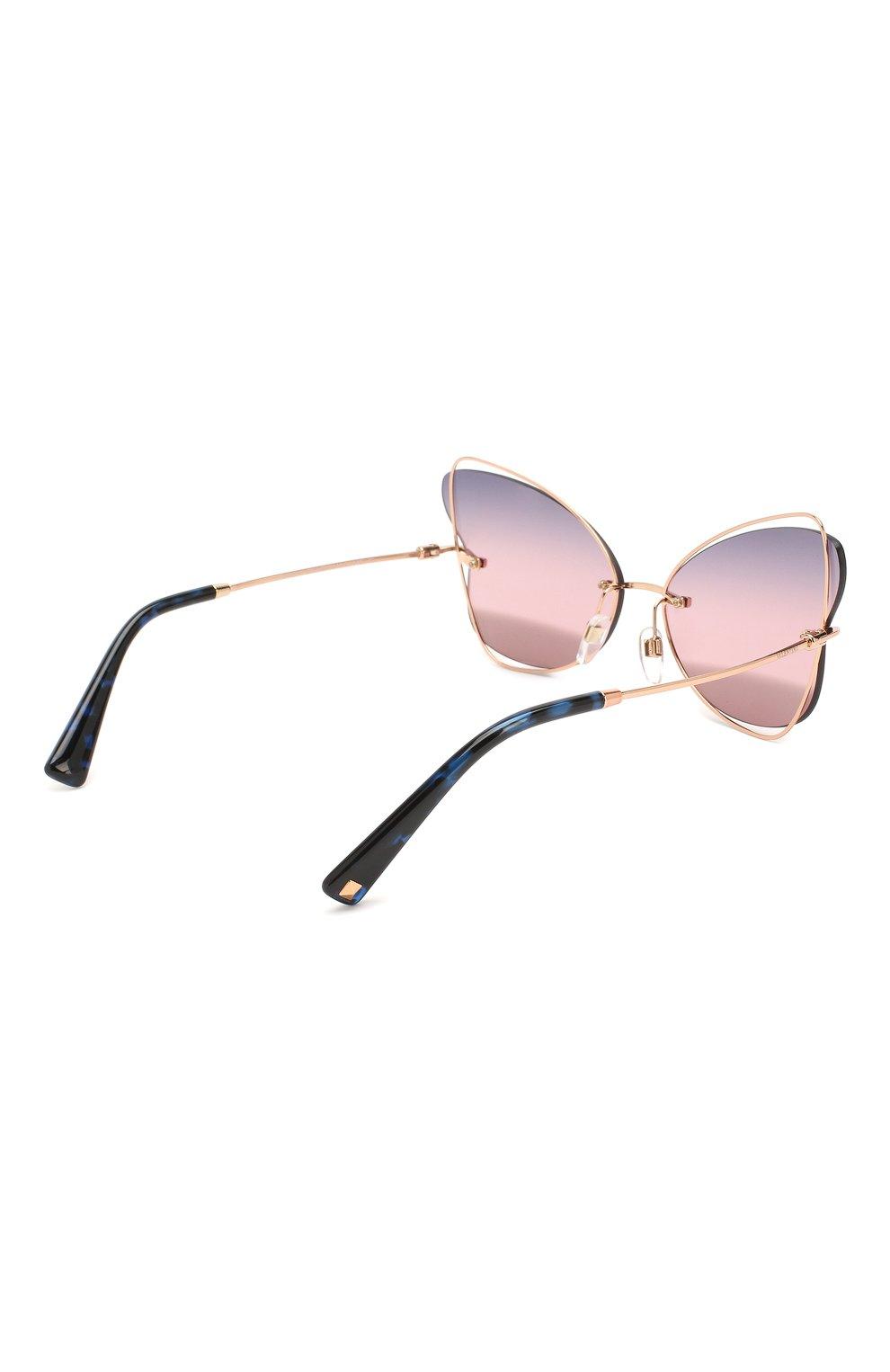 Женские солнцезащитные очки VALENTINO разноцветного цвета, арт. 2031-3004E6   Фото 4