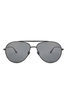 Мужские солнцезащитные очки GIORGIO ARMANI черного цвета, арт. 6093-300181   Фото 2