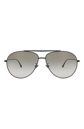 Мужские солнцезащитные очки GIORGIO ARMANI зеленого цвета, арт. 6093-30018E | Фото 2