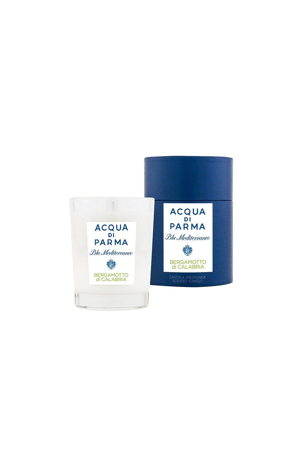 Мужская свеча парфюмированная bergamotto di calabria ACQUA DI PARMA бесцветного цвета, арт. 62006 | Фото 2