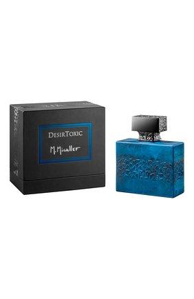 Женский парфюмерная вода desirtoxic M. MICALLEF бесцветного цвета, арт. 3760231056791 | Фото 2