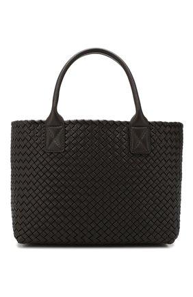 Женская сумка cabat small BOTTEGA VENETA коричневого цвета, арт. 141498/VAPN1 | Фото 1