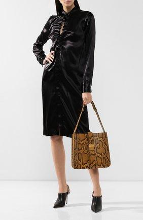 Женская сумка marie из кожи питона BOTTEGA VENETA желтого цвета, арт. 578344/VMAN1/PBIV | Фото 2