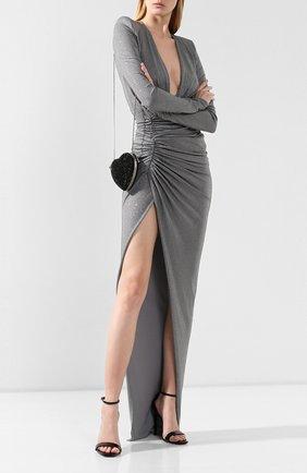 Женский клатч love SAINT LAURENT черного цвета, арт. 513658/0TR16 | Фото 2