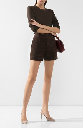 Женская кожаные туфли valentino garavani rockstud VALENTINO бежевого цвета, арт. ZW2S0H04/VNW | Фото 2