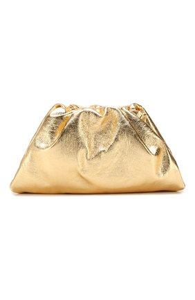 Женский клатч pouch BOTTEGA VENETA золотого цвета, арт. 576227/VA441 | Фото 1