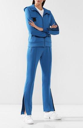 Женские брюки Y-3 голубого цвета, арт. FJ0270/W   Фото 2